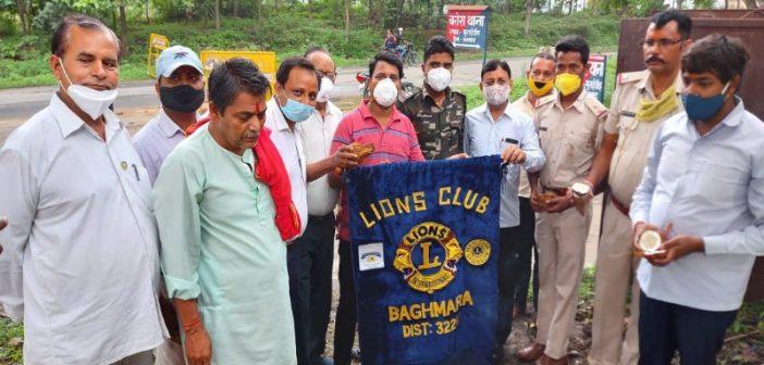 मुराईडीह में लायंस क्लब बाघमारा ने किया भूमि पूजन