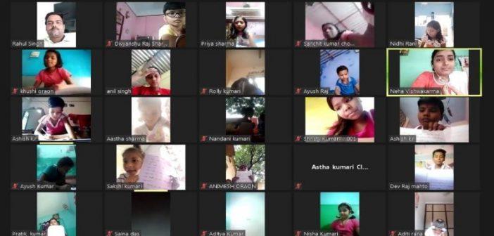 संस्कार ज्ञानपीठ विद्यालय में वर्चुअल समर कैम्प का आयोजन