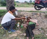 भटक कर केसरगढ़ पहुँचा दिव्यांग युवक को मदद की जरूरत